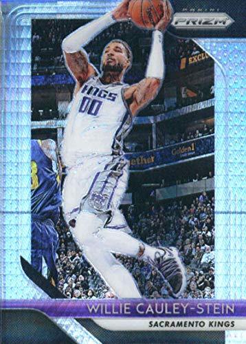 2018-19 Panini Prizm Prizms Hyper #221 Willie Cauley-Stein Sacramento Kings Basketball Card