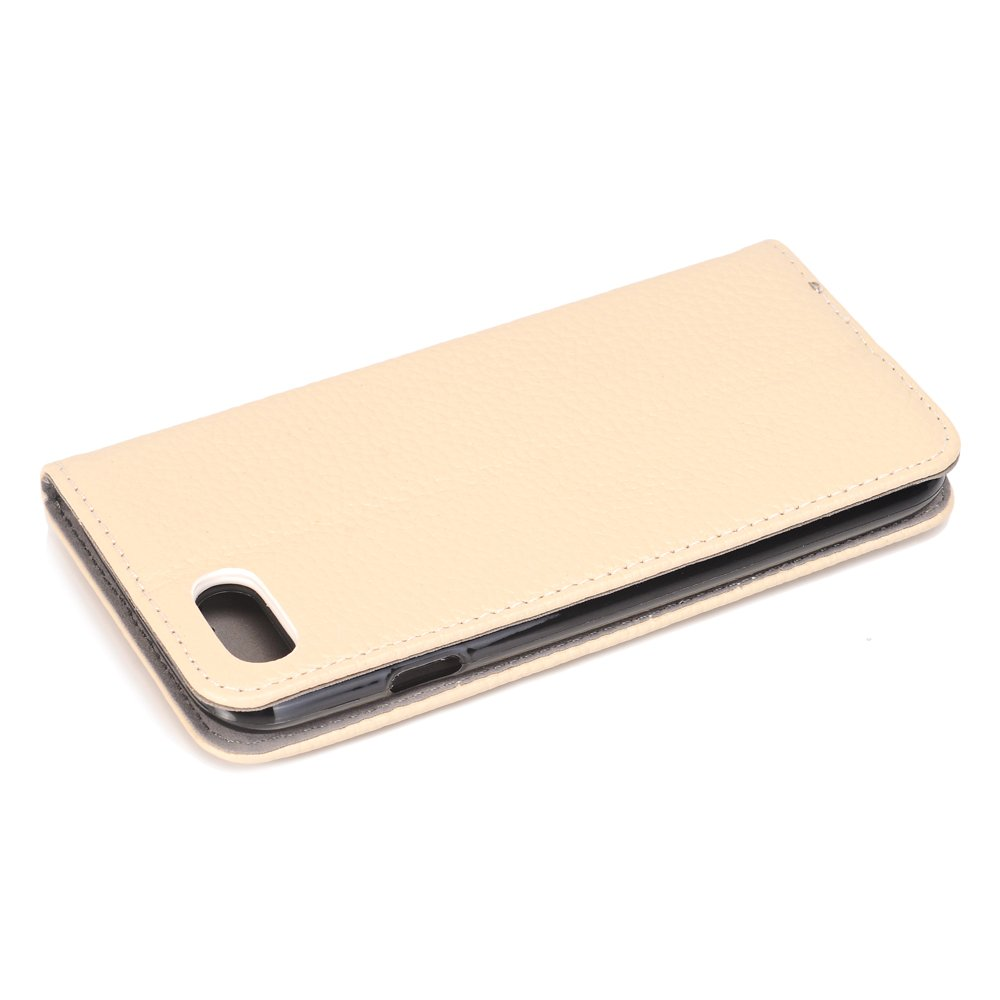 Slim Fit Lightweight Genuine Leather Flip Book Style Stand Wallet Case Cover with Card Slots Holder for 4.7 iPhone 7//8 iPhone 8 Leather Case TechCode iPhone 7 Case Leather