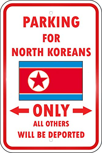 Korea North Parking Others Deported North Korean Vinyl Sticker Decal 8