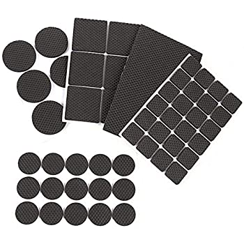 Self Adhesive Furniture Felt Pads Large Pack 120 Pcs Chair