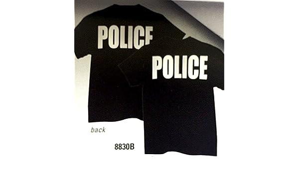 Amazon.com  POLICE - Raid T-Shirt - Short Sleeve - Black  Clothing 7871aa1f3