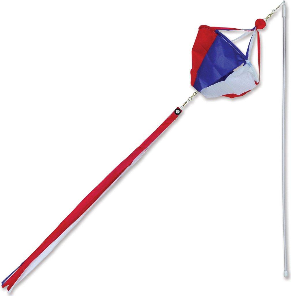 Premier Kites 18012 12パック風Wandスピナー、愛国 B004S6X82O