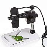 USB Microscope, Crenova USB Digital Microscope 5MP Video Microscope 300X Magnifier Camera for Windows XP/VISTA /WIN7 /Mac OSX UM012C