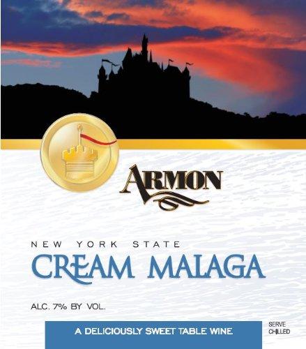 NV Armon Cream Malaga New York Red Sweet Wine 1.5 L Kosher