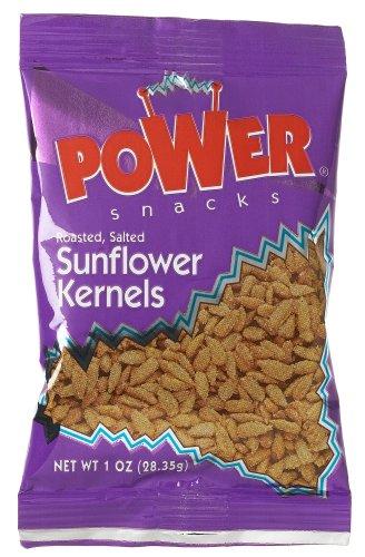 Azar Nut Company Sunflower Kernals, Oil Roasted, Salted, 1-Ounce Bags (Pack of (Azar Nut)