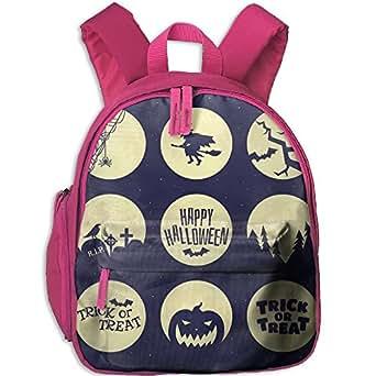 Cloogen Set The Halloween Symbols Students Backpacks For Teen Girls Kids Bookbag