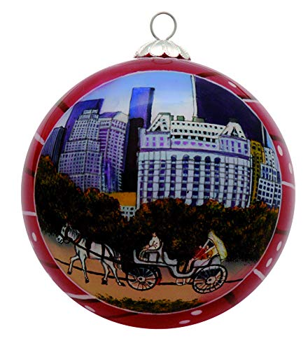 New York Christmas Ornament - Central Park Horse Carriage ()