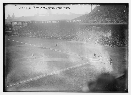 HistoricalFindings Photo: Christy Mathewson, York Giants,Larry McLean,World Series,Shibe Park,Baseball