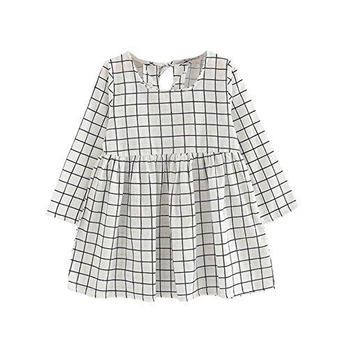 linen baby dress - 4