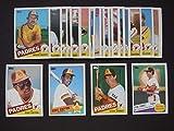 San Diego Padres 1985 Topps Baseball Team Set (30 Cards) ***Tony Gwynn, Tony Gwynn AS, Steve Garvey, Dick Williams, Bruce Bochy, Garry Templeton, Rich Gossage, Graig Nettles, Dave Dravecky, and More