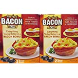 Perfect Bacon Bowl Bowls 2 / Pack by Perfect Bacon Bowl
