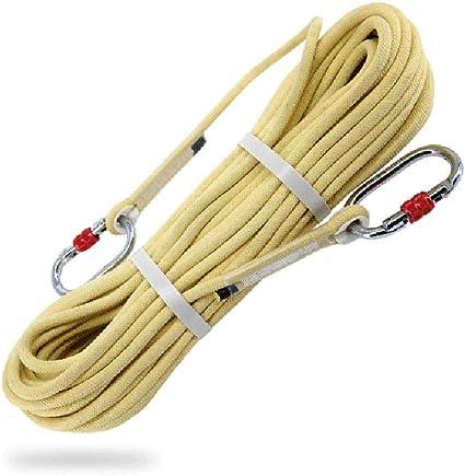 HJUN Cuerdas de Escalada Kevlar Nylon Material Resistente a ...