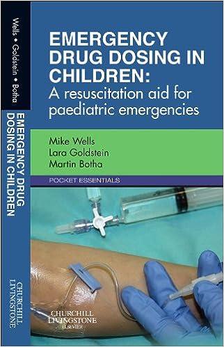 Emergency drug dosing children resuscitation