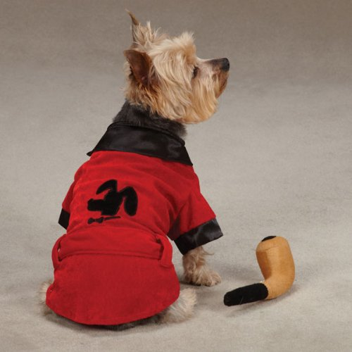 Casual Canine Party Hounds Smoking Jacket Costume, Large by Casual Canine (Image #1)