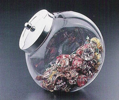 Candy Jar with Lid (Bulk Candy Jars)