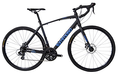 Learn More About Tommaso Sentiero Shimano Tourney Gravel Adventure Bike With Disc Brakes Perfect For...