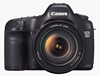Canon 5D - Cámara Réflex Digital 12.8 MP (Objetivo 24-105mm ...