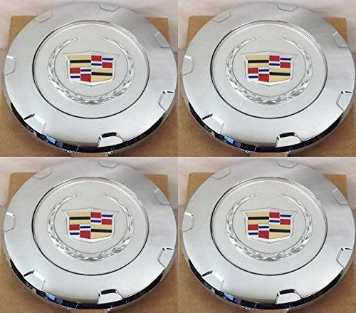 (4pcs. 2007-2014 Cadillac Escalade Colored Crest 22