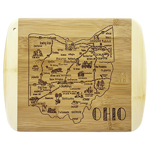 Totally Bamboo A Slice of Life Ohio Bamboo Serving and Cutting ()