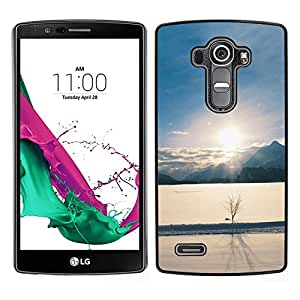 "For LG G4 , S-type Paisaje de invierno"" - Arte & diseño plástico duro Fundas Cover Cubre Hard Case Cover"