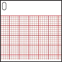 PAPER Z-FOLD THERMO/CHEM HEADRMULTI CHNL EKG 200/PD 10PD/CS Burdick/Cardiac Science