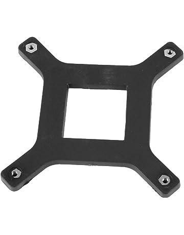 CPU Disipador térmico Soporte De Ventilador Abrazadera Plato trasero para Conector LGA775 Placa base