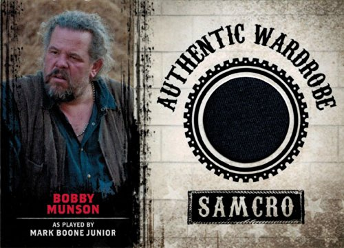 Sons of Anarchy M07 Wardrobe Costume Card Mark Boone Jr as Bobby Munson (Cards Of Anarchy Wardrobe Sons)