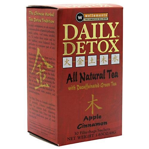 Daily Detox Apple Cider Cinnamon 30 BAG by Daily Detox (30 Bag Daily Detox)