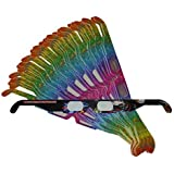 51 Pairs of Fireworks Diffraction Glasses - 50 pair Rainbow Spectrum Frames + 1 Pair Neon Orbital Frames