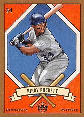 watch 18085 a9e61 2019 Panini Diamond Kings DK 205 5 Kirby Puckett Minnesota Twins Baseball  Card