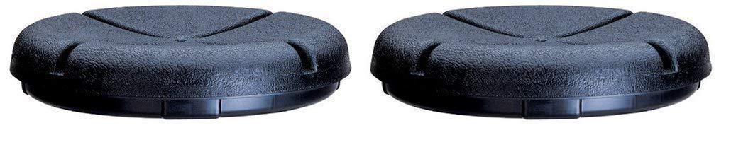 Custom Leathercraft CLC 1140 EasySeat Lightweight Plastic Bucket Seat for 3 1/2-5 Gallon Buckets (Тwo Рack)