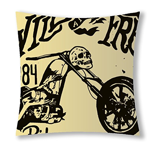 Little Sun 98 Vintage Skull Motorcycle Decorative