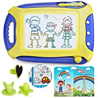Jaolex Magnetic Drawing Board Toy for Kids, Erasable?Doodle Board Colorful Writing Painting Sketch Pad ¡