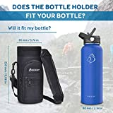 BUZIO Water Bottle Holder Carrying Pouch for 40 oz
