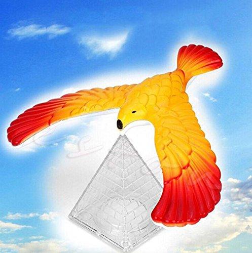 2018 Magic Balancing Bird Science Desk Toy w/Base Novelty Eagle Fun Learn Gag Gift