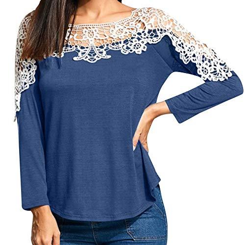 SMALLE ◕‿◕ Clearance,Women Ladies Casual Lace Patchwor