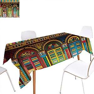 Amazon Com Familytaste Colorful Dinner Picnic Table