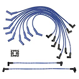 ACCEL 5056B SuperStock 8mm 5000 Series Blue Custom Spiral Core Spark Plug Wire Set