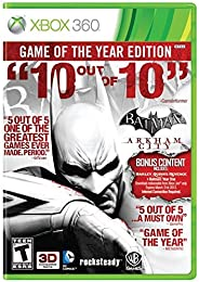 Batman: Arkham City - Game of The Year Edition (Renewed)