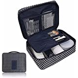 Pockettrip Clear Cosmetic Makeup Bag Toiletry Travel Kit Organizer BU