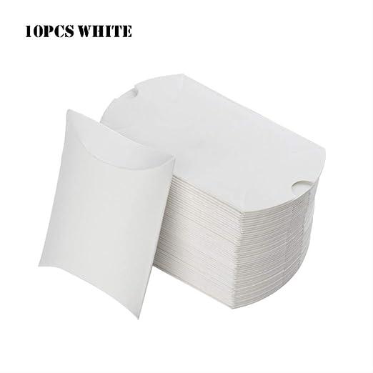 Caja Regalo Bonitas Para 10 Unids/Set Colorido Papel Kraft Caja De ...