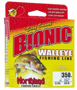 Northland Tackle Bionic Walleye Line 10 Lb. Fishing Products
