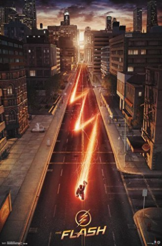 The Flash Cw Tv Show Poster / Print - Street by PosterSuperstars