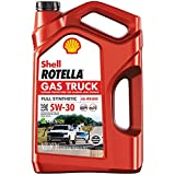 Best Synthetic Engine Oils - Shell Rotella Gas Truck Full Synthetic 5W-30 Motor Review