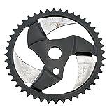 Boomerang 44T Bike Sprocket Bicycle Chainring for Beach Cruiser, Chopper, Bike