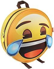 Emoji 2100002073 ROFL Huilen met Lachen 3D Effect Rugzak, Geel (Amarillo), 28 centimeter