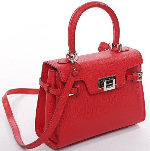 Josephine Osthoff Handtaschen-Manufaktur, Borsa a tracolla donna rosso rot one size