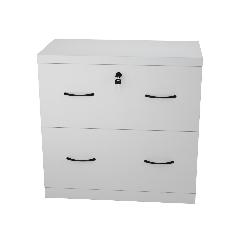 Amazon.com: Z-Line Designs 2-Drawer White Lateral File, White ...