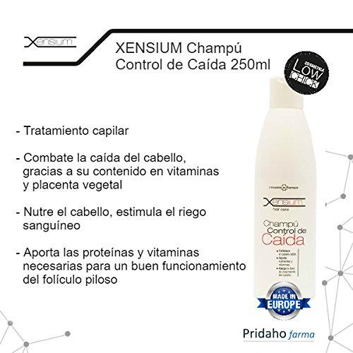 XENSIUM - XENSIUM Champú Control de Caída 250ml: Amazon.es: Salud y cuidado personal