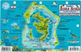 Bora Bora Map and Guide to the Polynesian Reef Franko Maps Laminated Fish Card